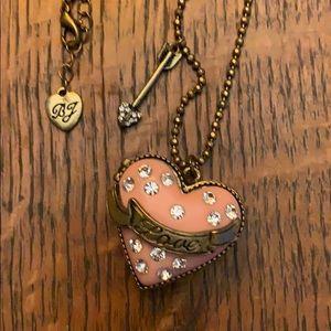 Betsey Johnson heart locket